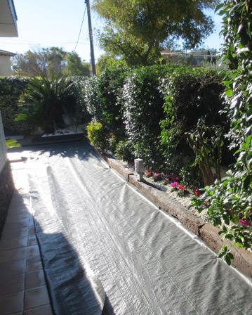 Instalaci n de c sped artificial en sant cugat jardinero - Colocacion cesped artificial ...