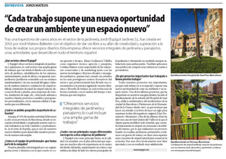Qui nes somos jardiner a l espigol en barcelona sant for Trabajo jardinero barcelona