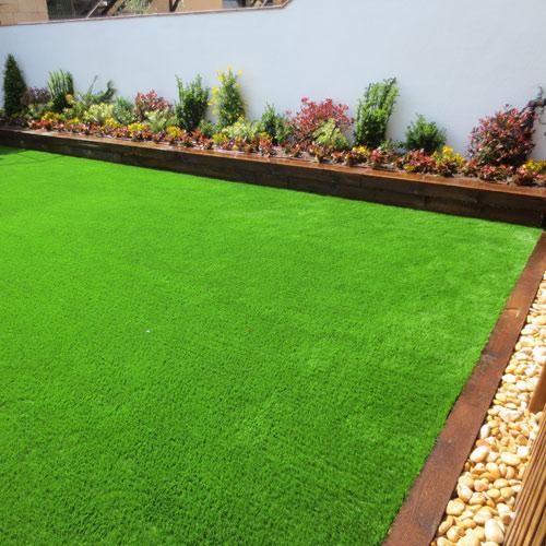 Proyectos jardiner a instalaci n de c sped artificial en - Cesped artificial jardineria ...