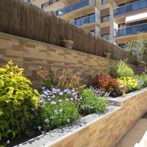 Jardineras con cactceas fotos obras de paleter 237 a - Jardineras de obra exterior ...