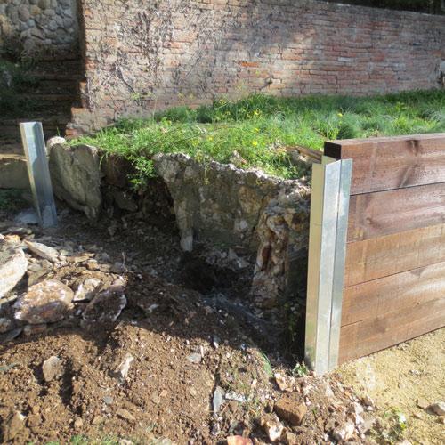 Jardineras de obra y plantaci n particular jardiner a l - Jardineras de obra exterior ...