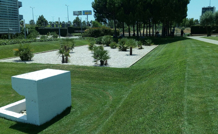 Mantenimiento y rehabilitacion de jardines de dise o y for Jardines de casas particulares